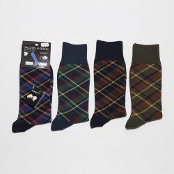 Calcetín cuadro Escocés